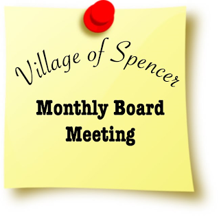 Village of Spencer Board Meeting